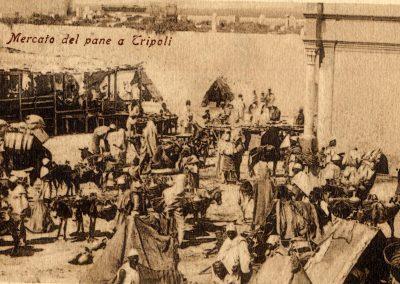 1911 Tripoli Mercato del pane F