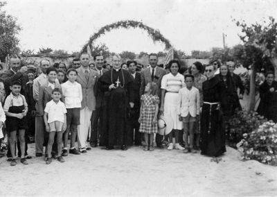 1938 Tripoli Mons. Facchinetti in visita all'azienda Russo Ragonesi Francesco