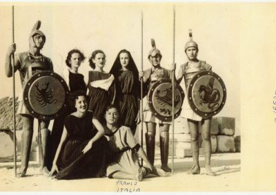 1950 Sabrata Rappresentazioni teatrali classiche - Franco Italia F