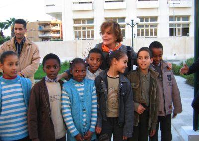 2004 11 19 Tripoli Viaggio A Misurata presso un orfanotrofio