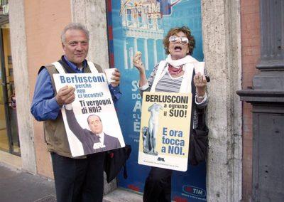 Le manifestazioni dopo il trattato Novembre 2008