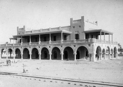 Tripoli 1919-Stazione Centrale-Fabbricato viaggiatori (collezione. A. Rosati)