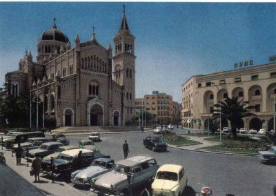 Tripoli anni '60. La Cattedrale