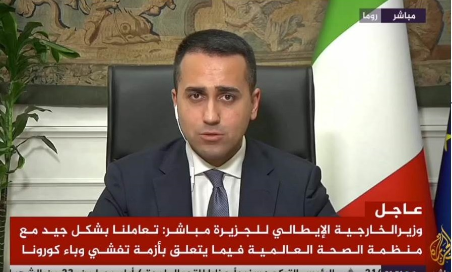 Di Maio Al Jazeera