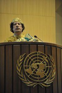 Gheddafi ONU