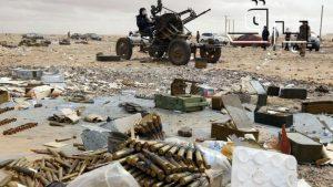 Immagine di guerra in Libia
