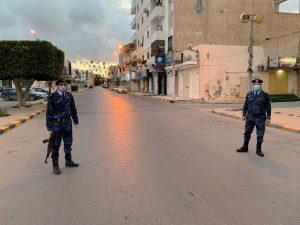 Coprifuoco in Libia