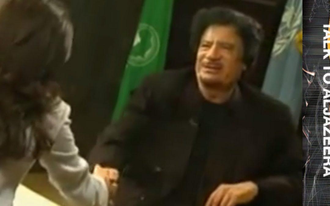 Libia, Gheddafi ordinava ad Al Jazeera chi ospitare