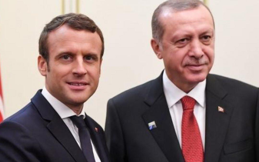 Macron e Erdogan