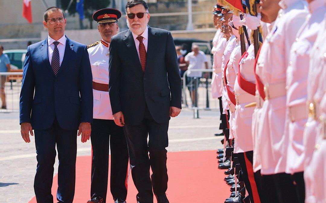 Al-Serraj pensa alle elezioni, mentre parla di migranti con Malta. Domani Guerini vola in Turchia