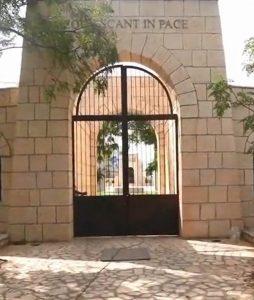Ingresso del Cimitero di Hammangi