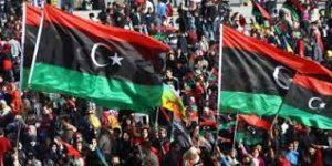 Immagine dalla Libia nel 2011