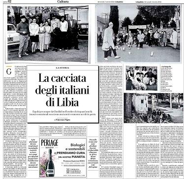 La cacciata degli italiani di Libia