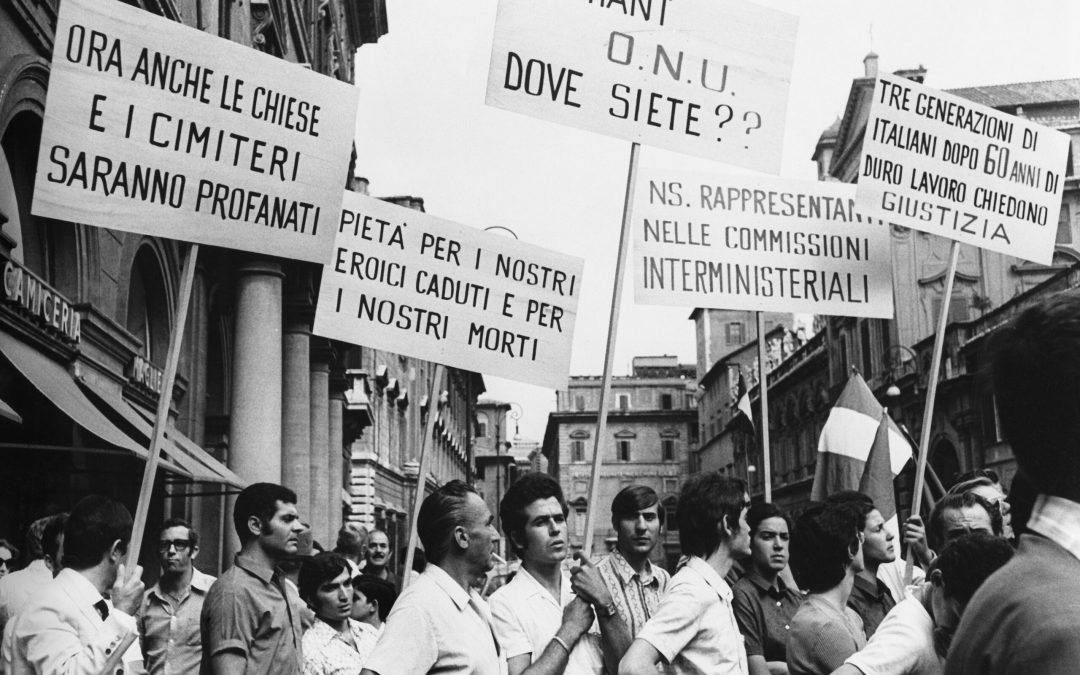 Italiani di Libia a 50 anni dalla diaspora. L'intervista di Indelicato a Lombardi