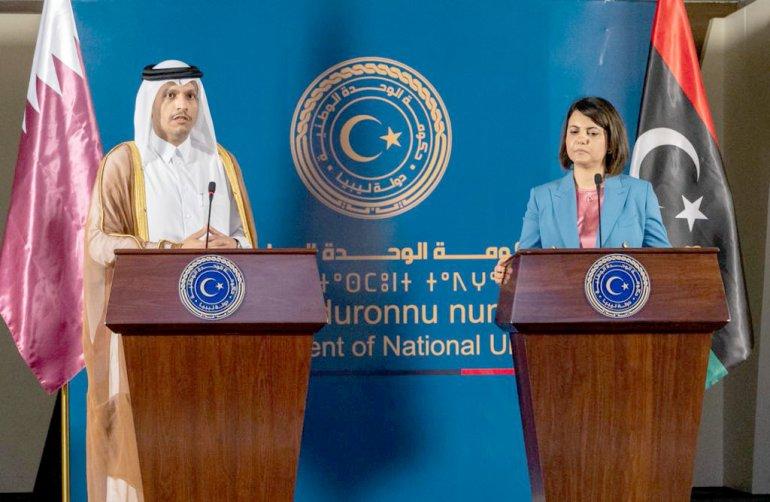 Il Qatar conferma il suo supporto al Governo di Tripoli
