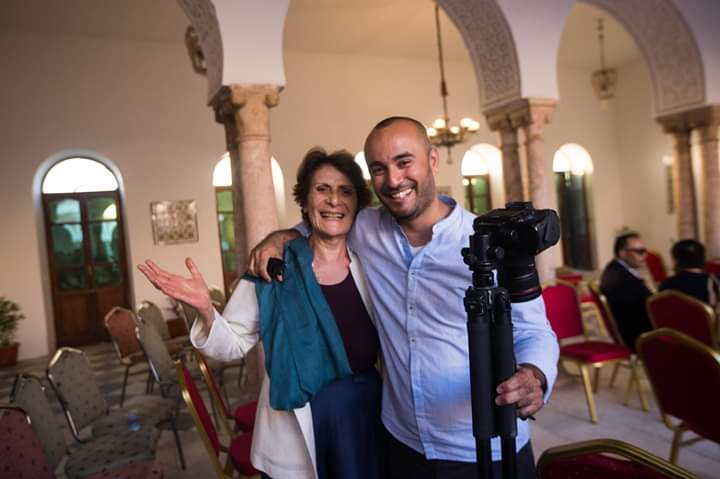 Mohammed Ben Khalifa e Giovanna Gagliardo