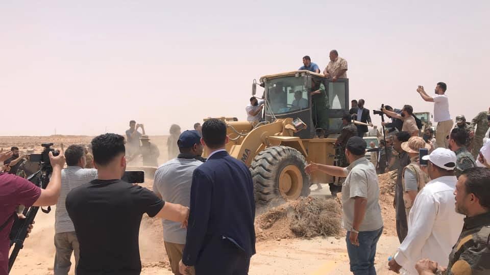 Dbeibah annuncia riapertura della strada costiera Sirte-Misurata