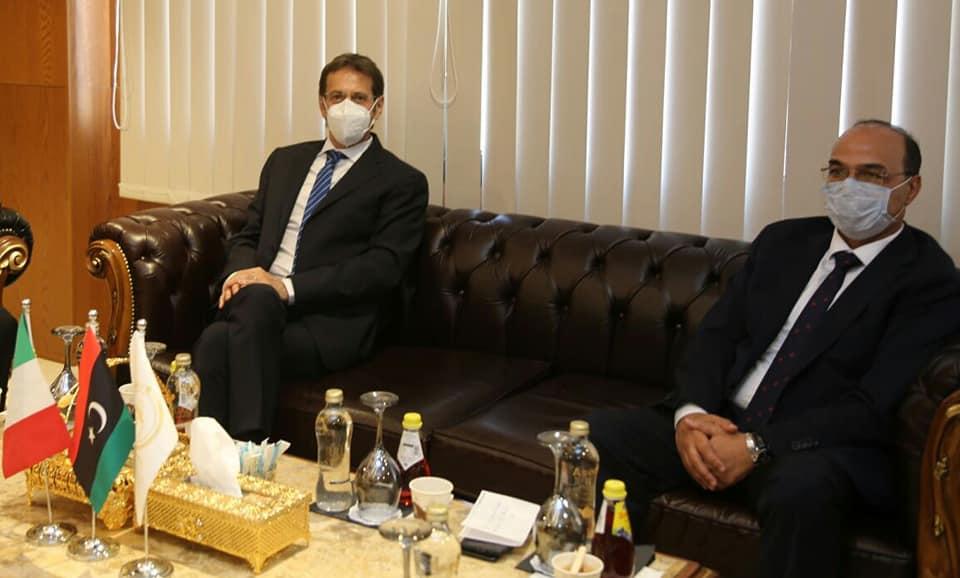 Italia-Libia: serie di incontri per il Console Batori a Bengasi