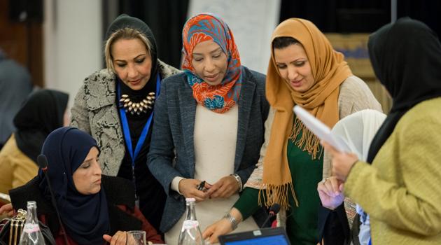 Cinque donne per la pace in Libia