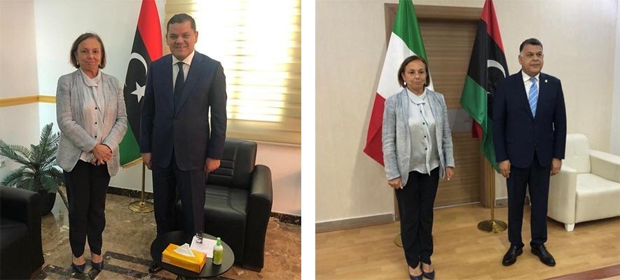 Lamorgese in visita a Tripoli: migranti e sicurezza