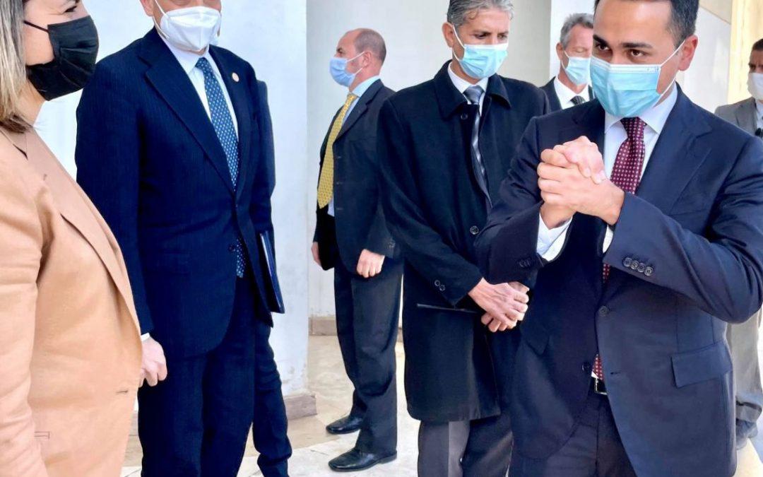 Nuova missione del ministro Di Maio in Libia
